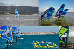 Tramontana : stages et cours de windsurf à Frontignan Plage