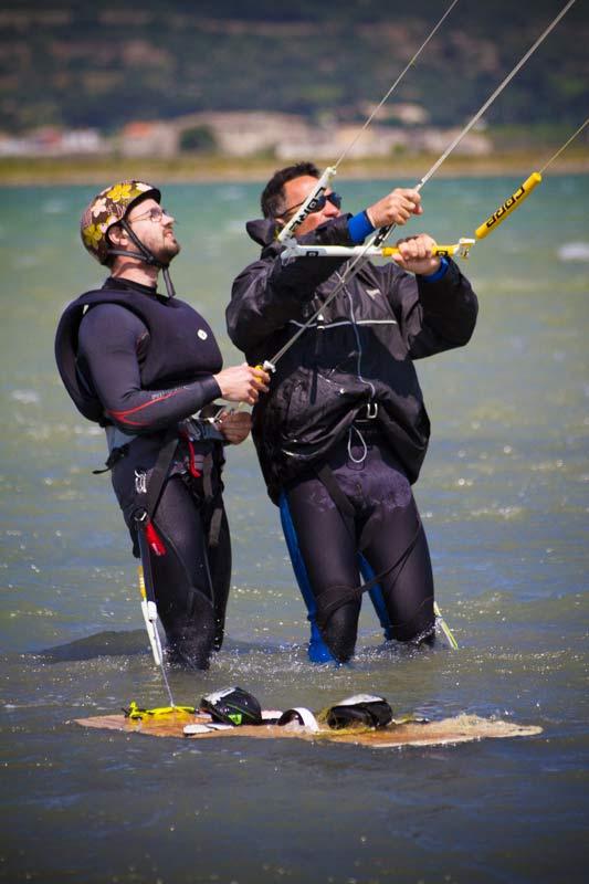 Optimum Kite - Ecole de Kite surf à Frontignan Plage sur l'étang d' Ingril