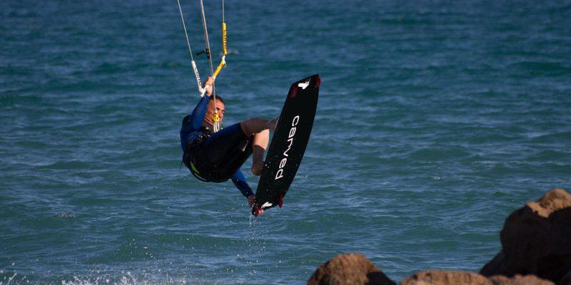 Sylvain HOCEINI en mer