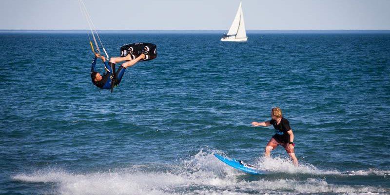 Sylvain HOCEINI - Kite surf en mer