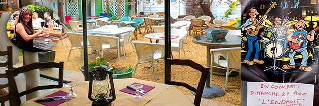 Restaurant l'endroit à frontignan plage