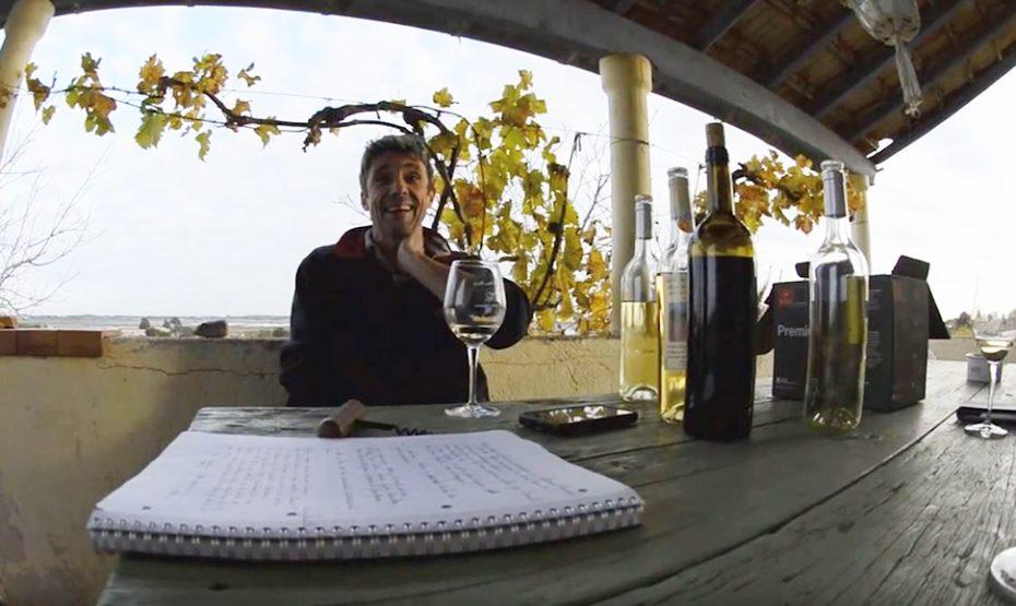 Olivier ROBERT, vigneron bio en Méditerranée, bord de mer